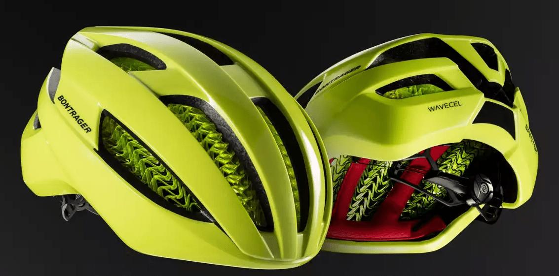 Wavecel op fietshelmen