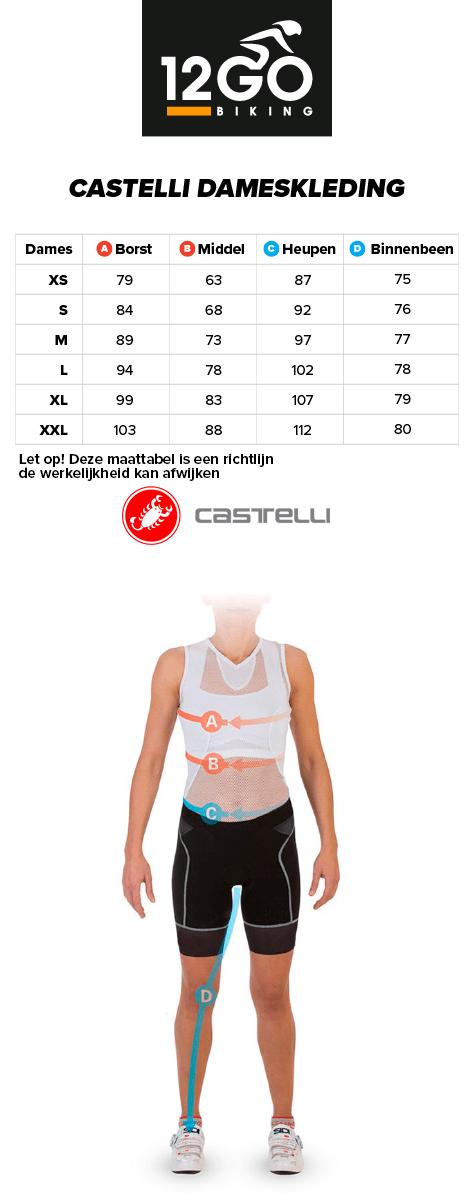 Castelli dames kleding