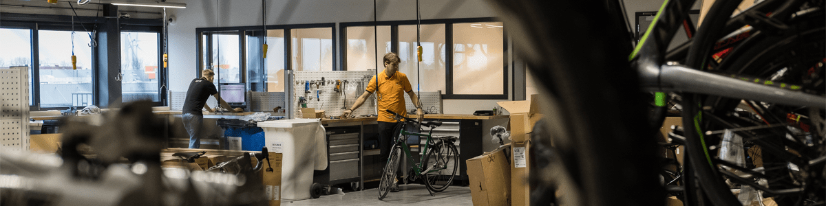 12GO Biking Werkplaats