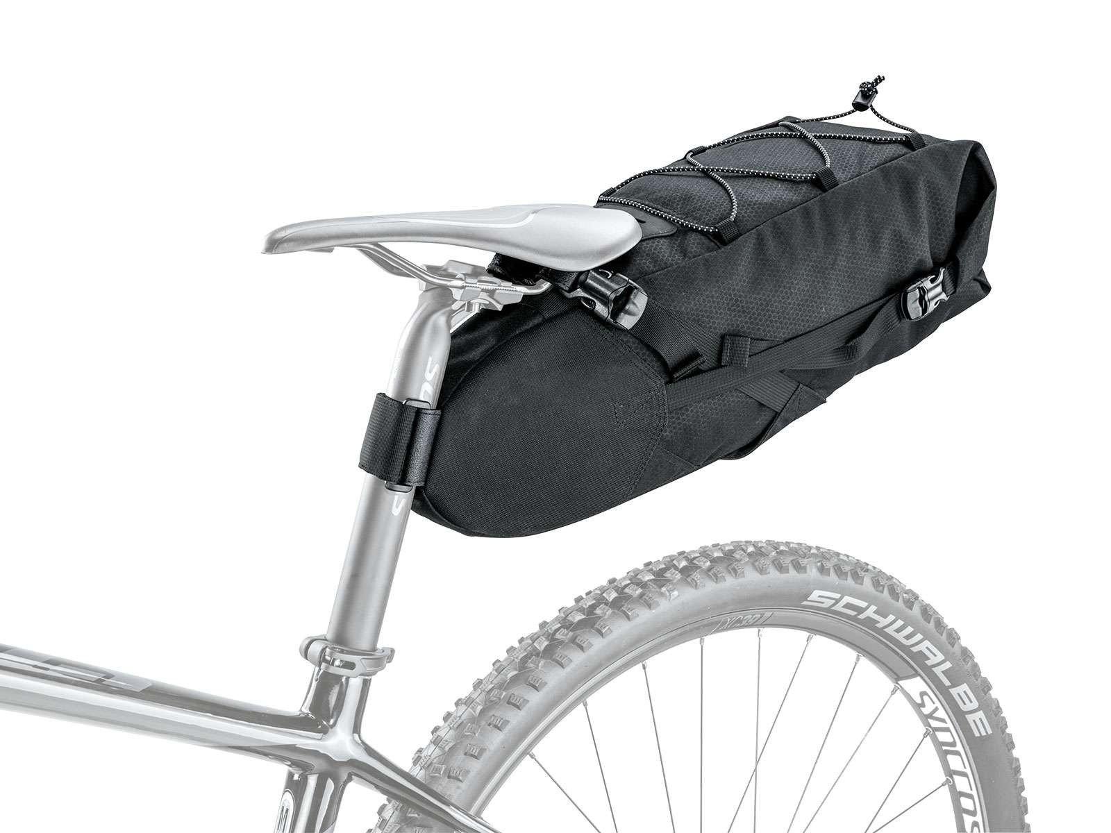 Zadeltas bikepacking