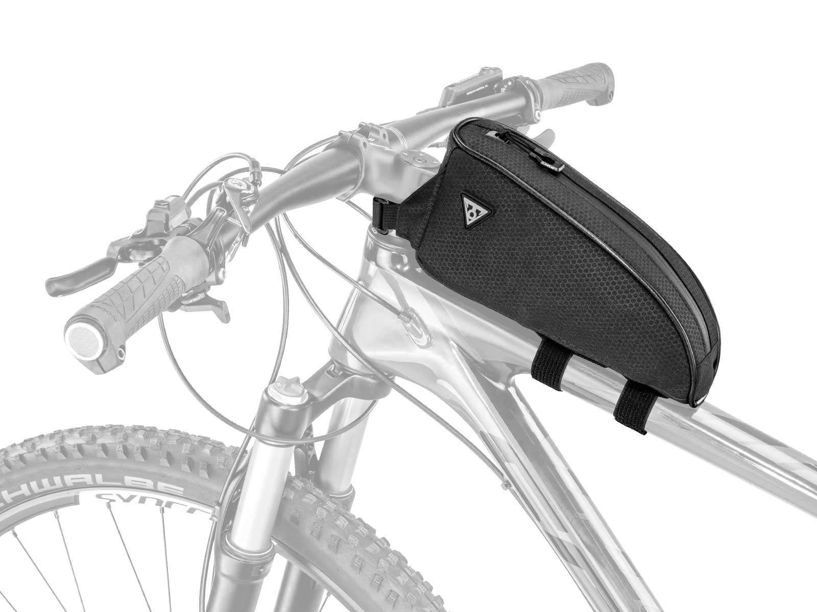 bikepacking tas op de bovenbuis
