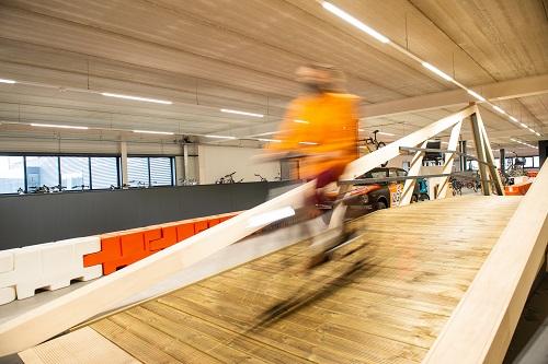 test je e-bike in Moordrecht