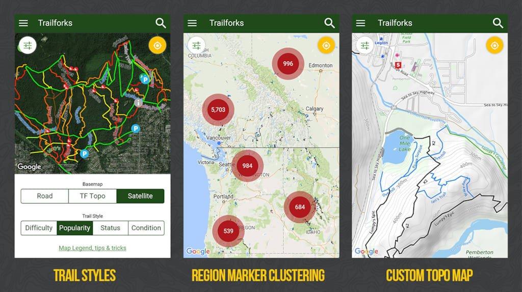 trailforks app blog
