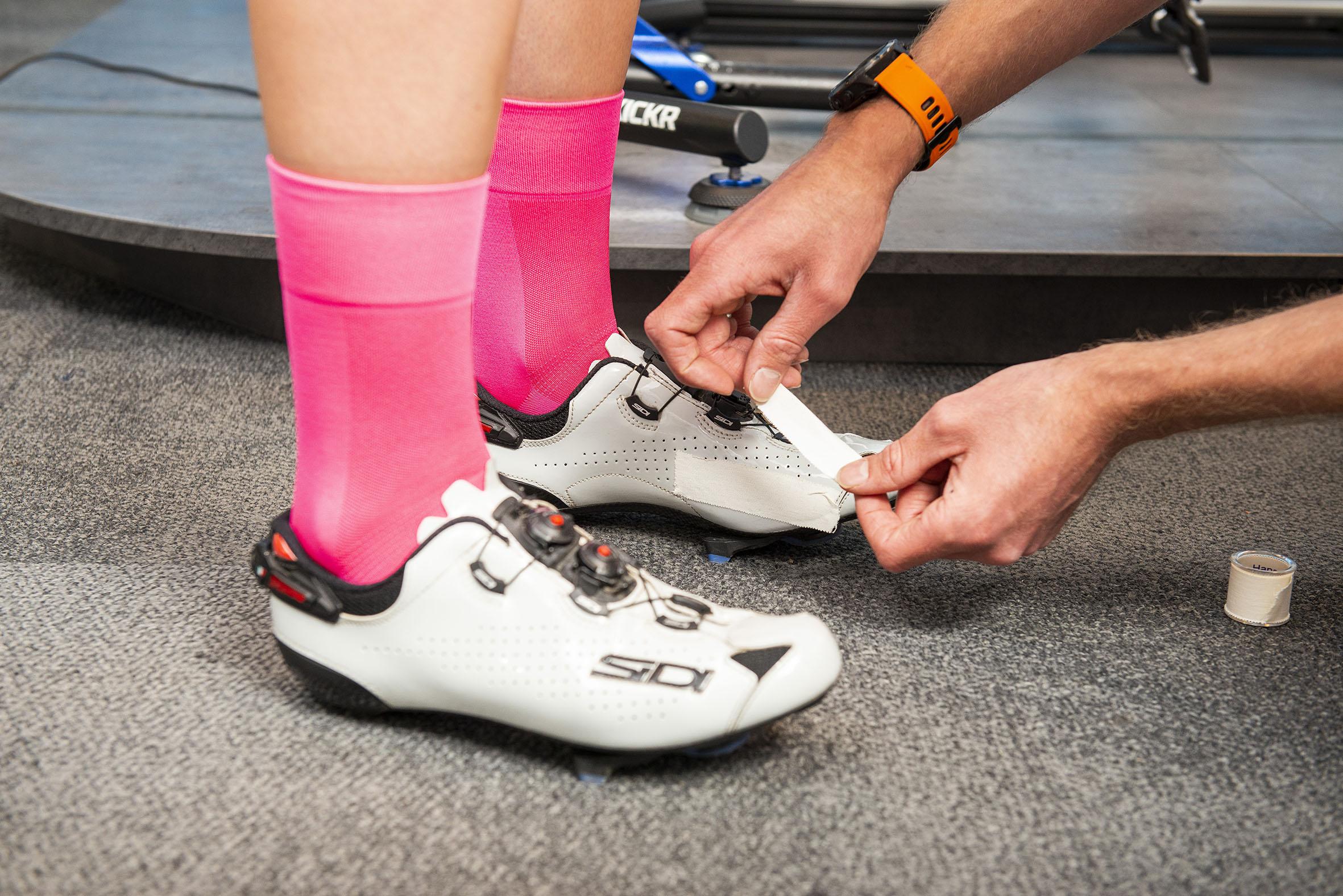 voeten en pedalen